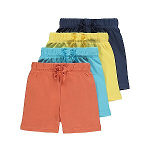 Assorted Jersey Shorts 4 Pack