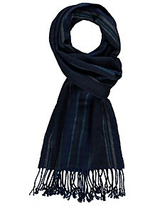ceda2796a7a Blue Check Brushed Scarf