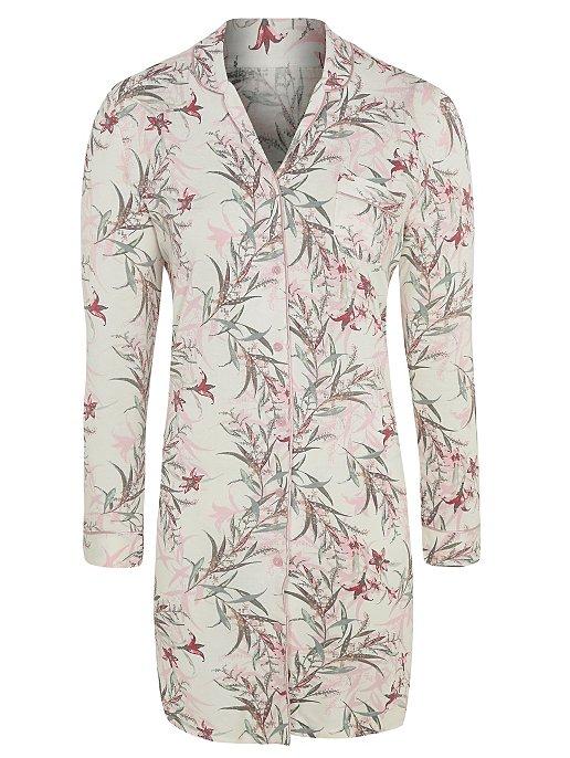 a029e76a5e Pink Floral Shirt Nightdress. Reset