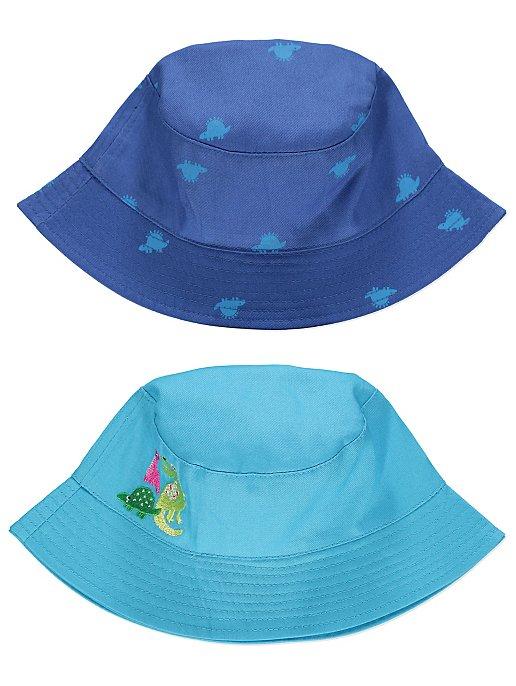 Blue Dinosaur Bucket Hats 2 Pack  2867803f606