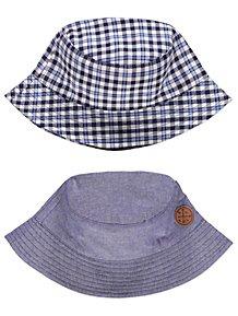 Blue Bucket Hats 2 Pack 473ff892724e