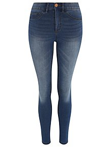 44a7929e211 Wonderfit Mid Wash Denim Skinny Jeans