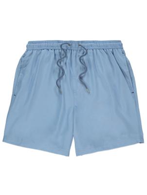 Pale Blue Swim Shorts