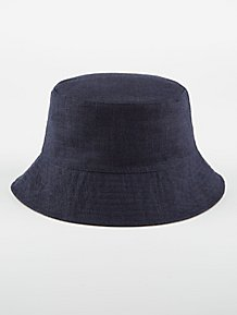 868736bff09 Navy and Grey Reversible Bucket Hat