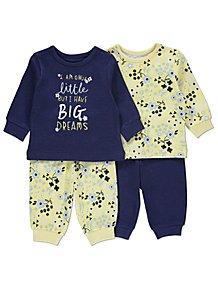 90f440070 Baby Girls Sleepsuits & Pyjamas | George at ASDA