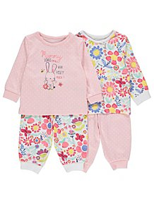 1289621668f7 Baby Girls Sleepsuits   Pyjamas