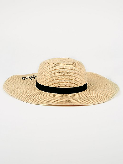 Mrs Embroidered Floppy Hat  86e1345a59a