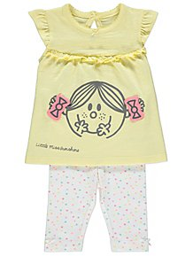 4e99155be1f Little Miss Sunshine Top and Leggings Outfit