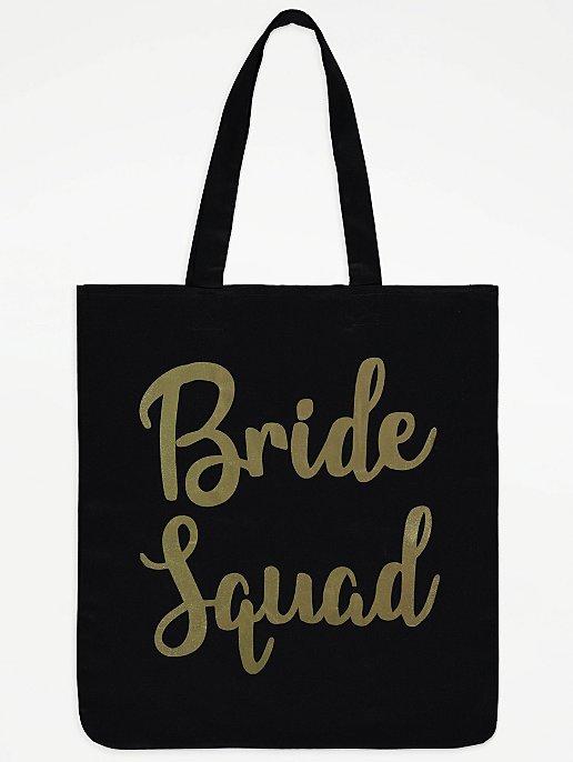 7862492bc0b8 Bride Squad Canvas Tote Bag. Reset