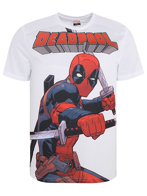 ae7c21ed303b9 Marvel Deadpool Graphic Short Sleeve T-Shirt
