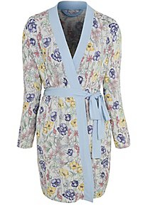 d821f4fc83 Post Surgery Floral Soft Touch Dressing Gown