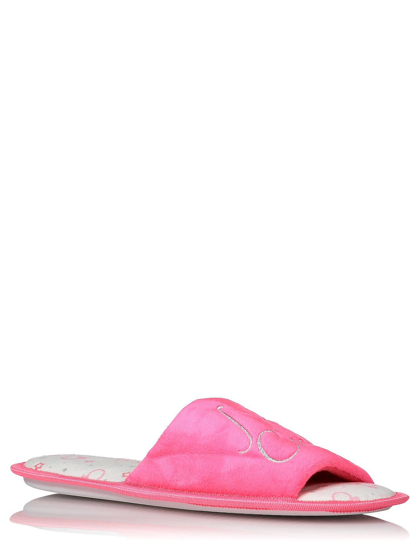2a463b10ddf13 Pink I Do Crew Open Toe Slippers