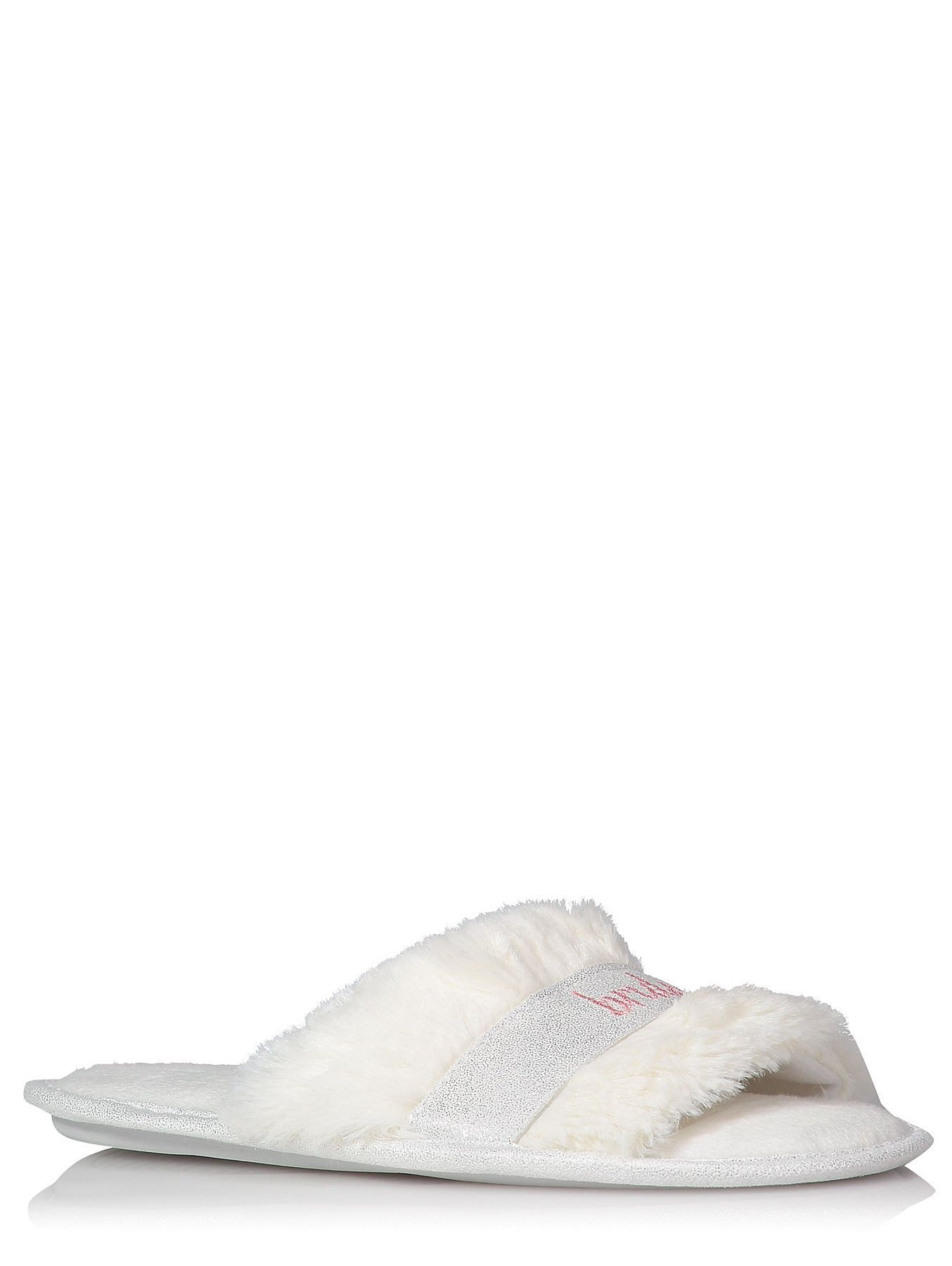 948af7678a6 White Bride To Be Slogan Open Toe Slippers