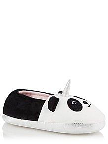 1be7896018be Panda Face Unicorn Full Back Slippers. From £7