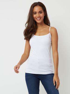 White Camisole Vest