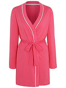 Pink Bride Slogan Dressing Gown c52f86ae5