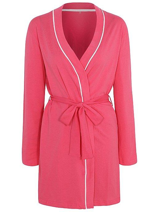 11406fd5d7 Pink Bride Slogan Dressing Gown. Reset