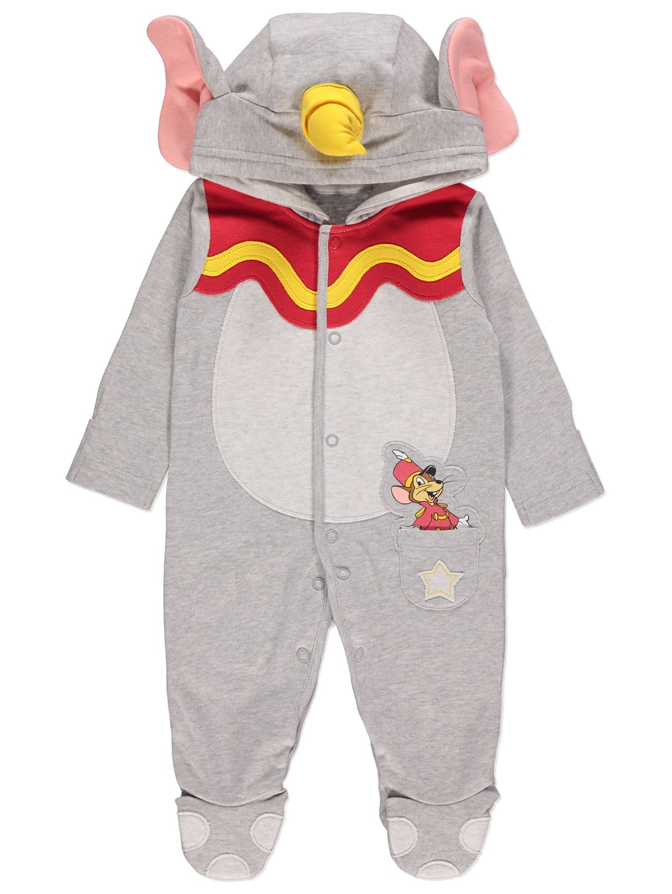 e8cc1c4f4 Disney Dumbo Jersey All-in-One