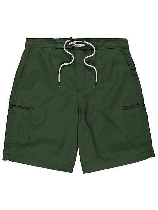 d302c65b67 Khaki Zip Pocket Swim Shorts   Men   George