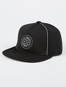 87fb1a360ac Black Metallic Emblem Baseball Cap