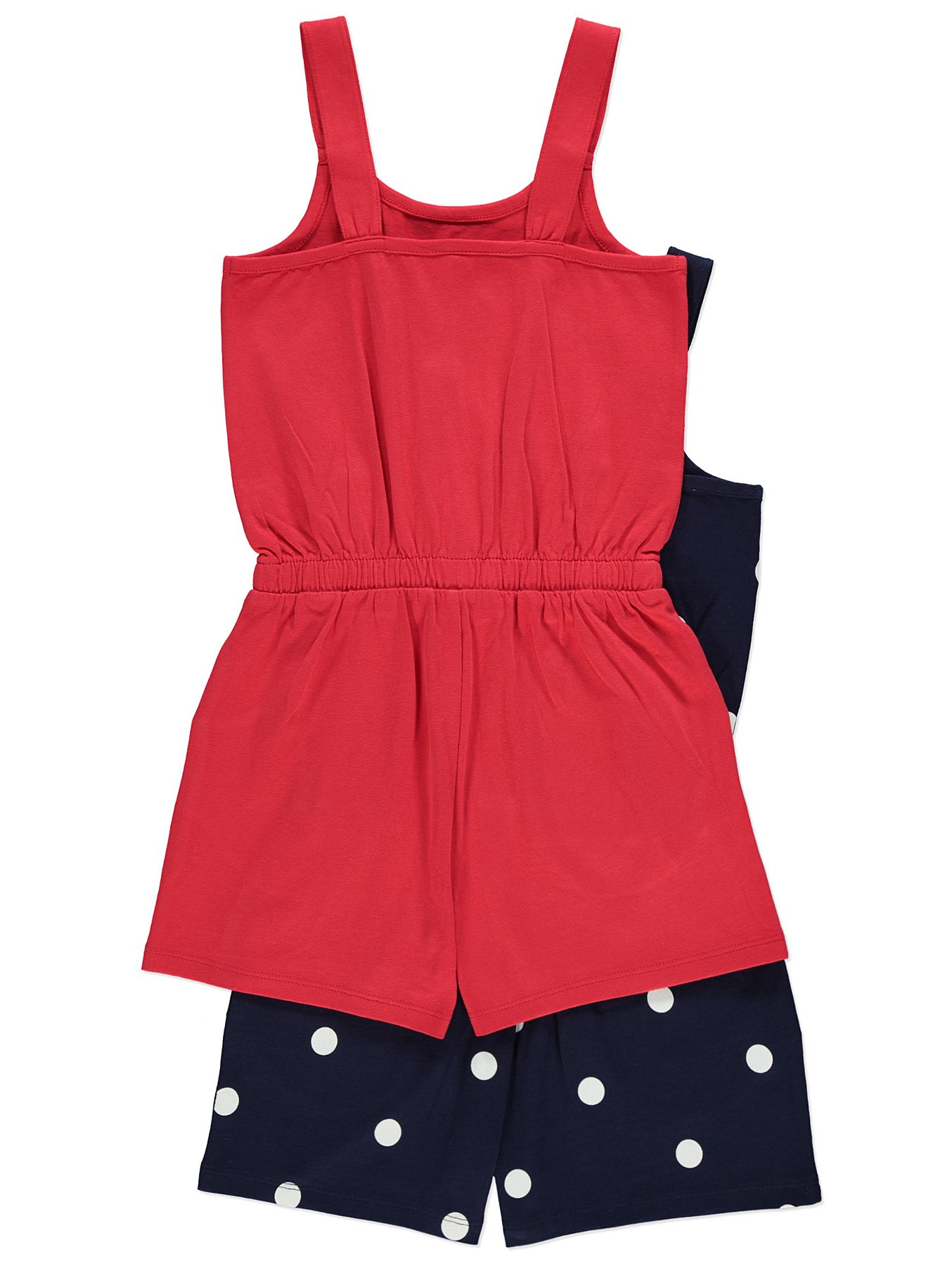 fdc822c4b3c3 Red Polka Dot Playsuit 2 Pack. Reset