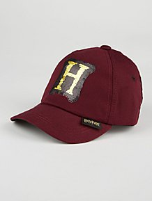 933c864749e Harry Potter Burgundy Swipe Sequin Cap