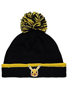 3f96d53d93e Pokémon Pikachu Black Bobble Hat
