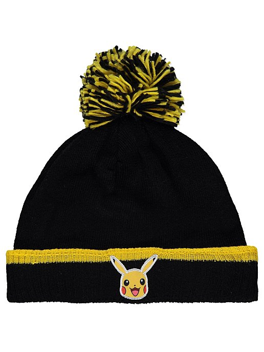 84559ad7af8 Pokémon Pikachu Black Bobble Hat. Reset