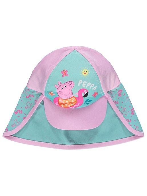 2f3ba0bf2d11a Peppa Pig UPF 50 Sun Protection Keppi Hat