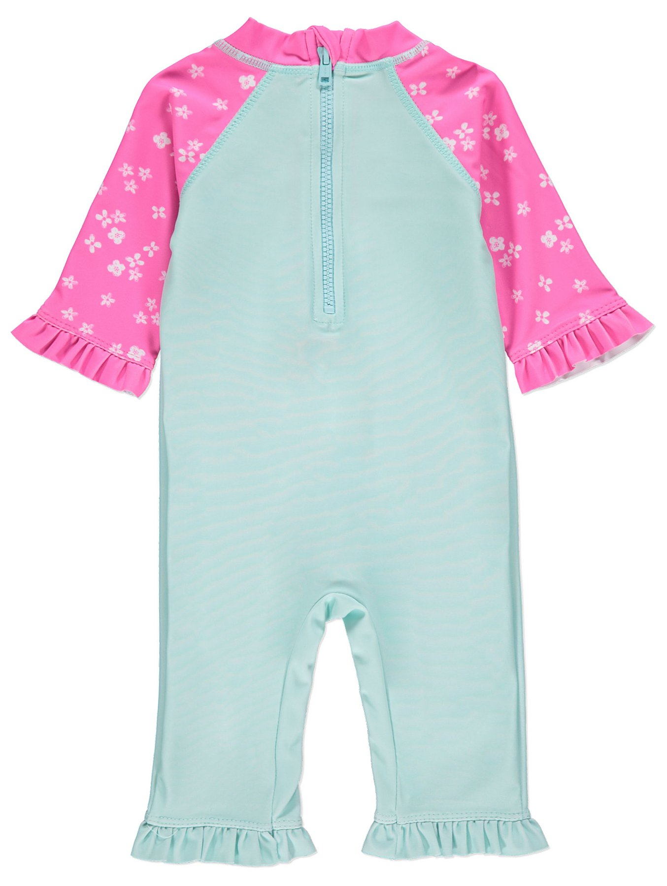 2cdc3530e5 Flamingo Sun Protection UV40 Swimsuit and Hat Set | Baby | George