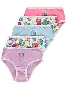 87e3c90b09a45 Shimmer and Shine Briefs 5 Pack