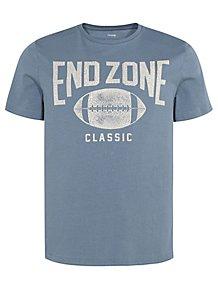 a9d198de950c Blue Endzone Short Sleeve T-Shirt