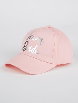Pink Team Bride Cap