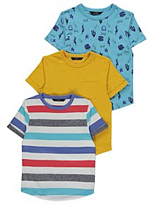 Sea Creature T Shirts 3 Pack