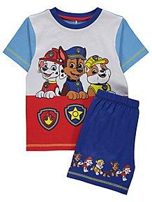 new concept f2fda fce54 PAW Patrol Printed Pup Short Pyjamas