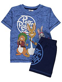 36a20fcee72 Peter Rabbit Map Print Short Pyjamas
