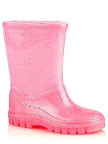 e78c54bb953 Pink Glitter Wellington Boots