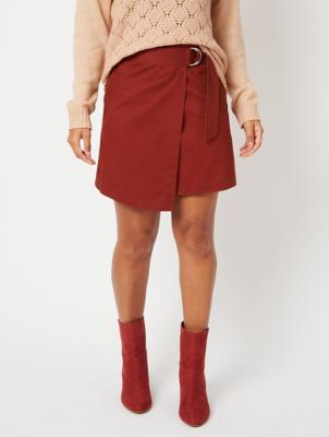 Rust Wrap Utility Skirt