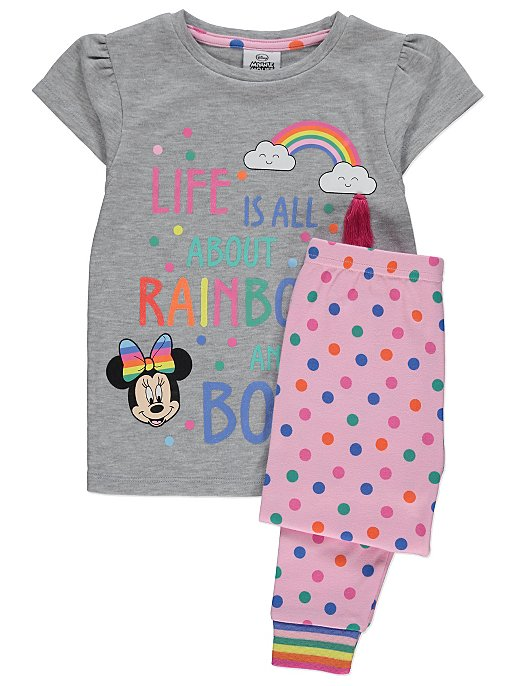 Disney Minnie Mouse Rainbow Pyjamas. Reset d41cd3e7d
