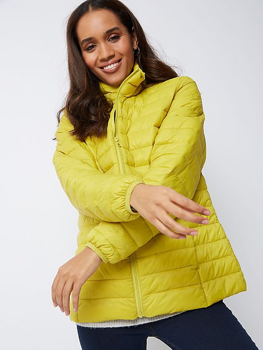 b37ce1acc Lime Packable Padded Shower Resistant Coat | Women | George