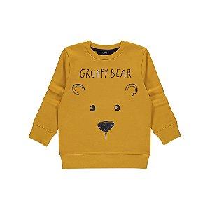 Yellow Grump Bear Sweatshirt