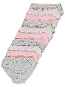 4710fe13bbd Striped Bunny Rabbit Briefs 10 Pack