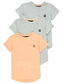 Short Sleeve Pocket T-Shirts 3 Pack e683e0c607c