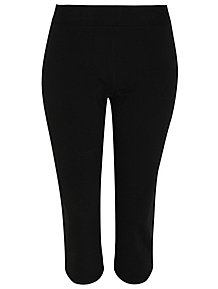 e503474d8a Black Jersey Cropped Joggers
