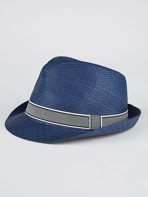 87e2e26748d17 Navy Trilby Hat | Men | George