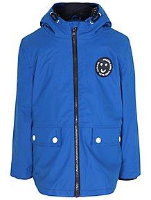 ad451d37425c Blue 3 in 1 Shower Resistant Fisherman Coat