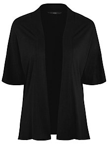 11a8303267 Black Open Front Cardigan