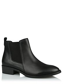 03ac23abe3f2 Black Leather Chelsea Boots