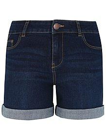 97c1ed26193 Dark Denim Shorts