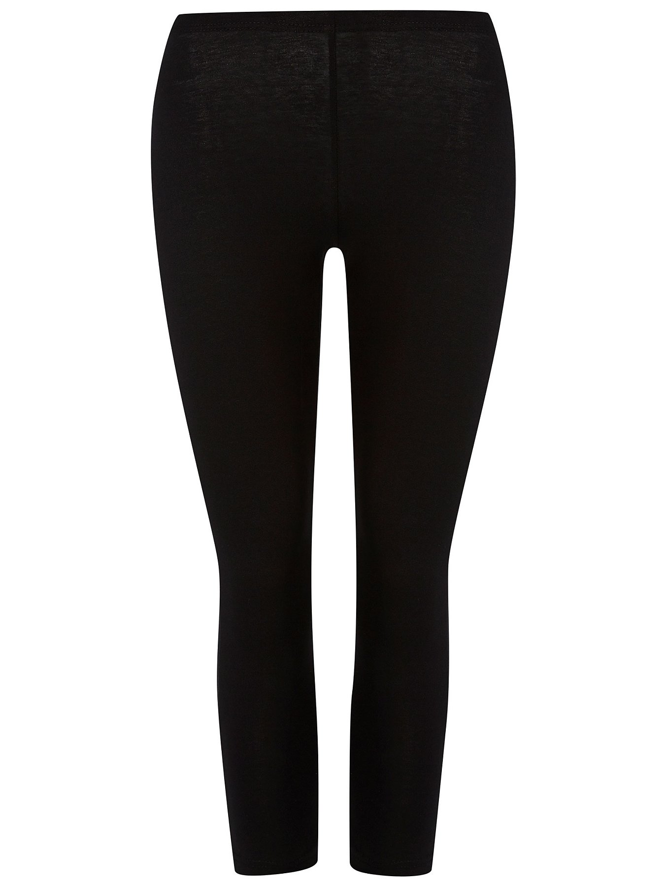dc548911460f33 Black Crop Leg Leggings 2 Pack | Women | George
